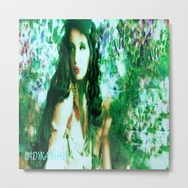 Fairy WOOD NYMPH AT THE LAKE LADYKASHMIR Metal Print