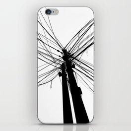 Electric Pole iPhone Skin