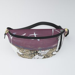 Quiet Virus Fanny Pack