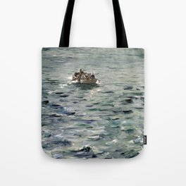 Edouard Manet Rochefort's Escape Tote Bag