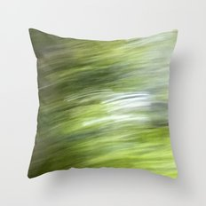 Rainy Day Motion 1 Throw Pillow