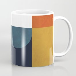 mid century abstract shapes fall winter 4 Coffee Mug