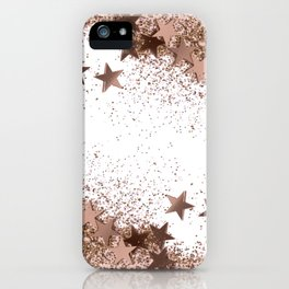 SHAKY STARS ROSEGOLD iPhone Case
