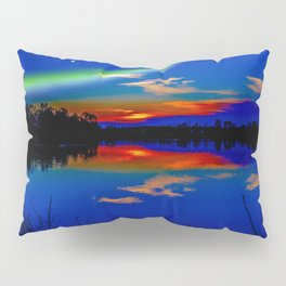 North light over a lake Pillow Sham