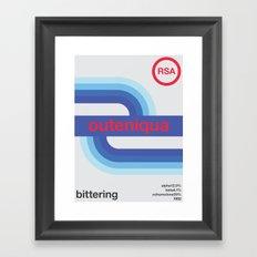 outeniqua single hop Framed Art Print