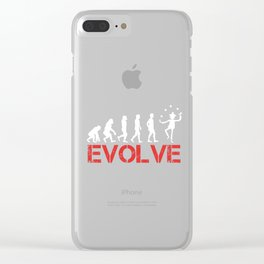 Jugglers Throwing Catching Juggled Juggles Toss And Catch Evolve Juggling Gift Clear iPhone Case