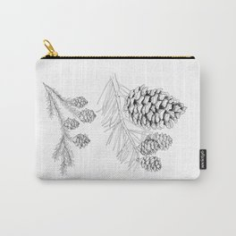 Pine Branches Carry-All Pouch