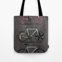 brompton Tote Bags featuring This Is How I Roll by Wyatt Design