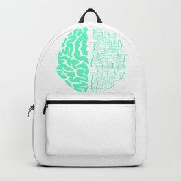 Electric Brain Art Backpack