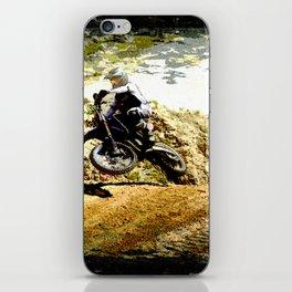 Dirt-bike Racer iPhone Skin