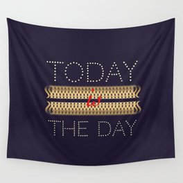 Allways positive Wall Tapestry