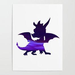 Spyro Crystal Islands Skybox Poster
