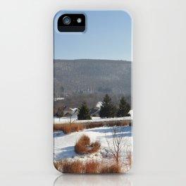 Winter Snow Scene Landscape Photo iPhone Case
