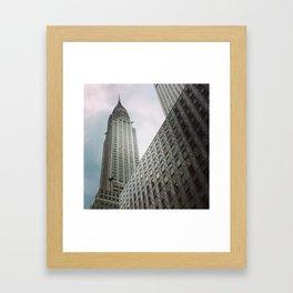 Chrysler Building New York City Framed Art Print