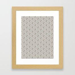 Brolga | Pattern Framed Art Print