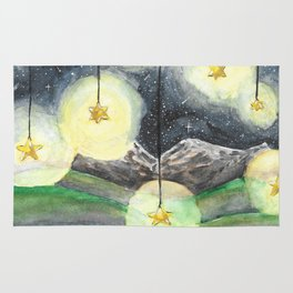 Stars Hung in the Sky Rug