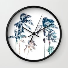 Stellar Palms Wall Clock