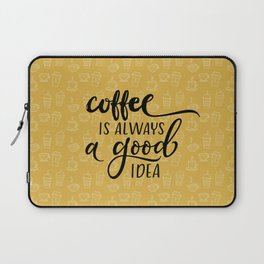 Coffee pattern Laptop Sleeve