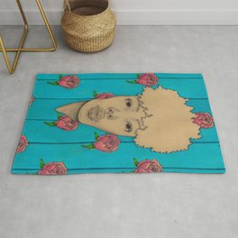 Wallpaper Girl Rug