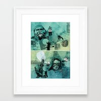 mexico Framed Art Prints featuring Mexico by Simon Prades
