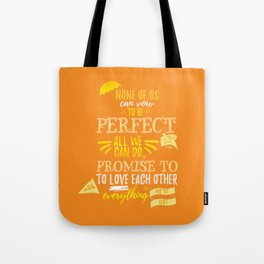 Love is the best thing we do Tote Bag