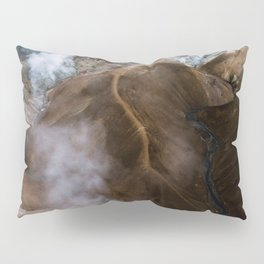 Kerlingarfjöll mountain range in Iceland - Aerial Landscape Photography Pillow Sham