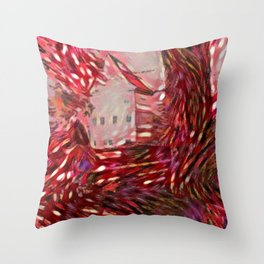 Good Read Bamberg Mandala Crazy Throw Pillow
