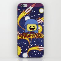 spaceship iPhone & iPod Skins featuring Spaceship!  by Brieana