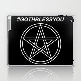 #GOTHBLESSYOU Laptop & iPad Skin