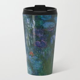 Water Lilies by Monet, 1916–19 Travel Mug