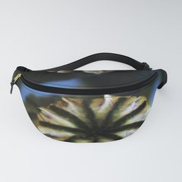 Poppy Flower Pods Bouquet Fanny Pack