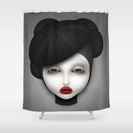 Misfit - McQueen Shower Curtain