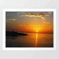Sharm el Sheikh, Egypt - winter sunrise Art Print