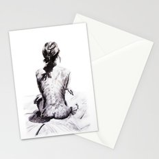 Back and Shadow Study Stationery Cards