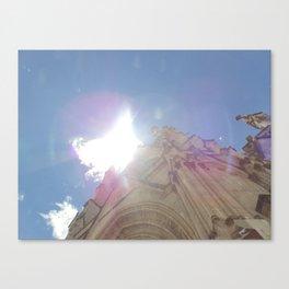 La Basílica del Sagrado Voto Nacional, Dos Canvas Print