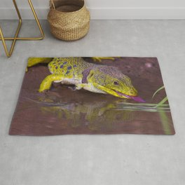 The ocellated lizard Rug