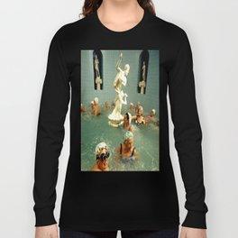 Rub A Dub Dub Oldie Hawn In Da Tub Long Sleeve T-shirt