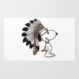 Indian Snoopy Rug