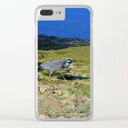 Walk in the Morning Light Clear iPhone Case