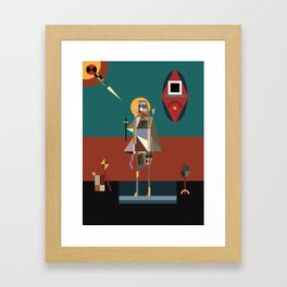 mary of egypt Framed Art Print