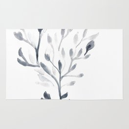 Watercolour Tree 4 Rug