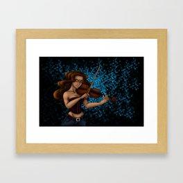 Passionate Music Framed Art Print