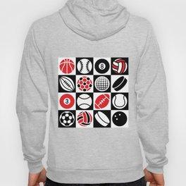 Sport Ball Checkerboard Hoody