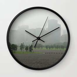 Clouds in tokyo Wall Clock