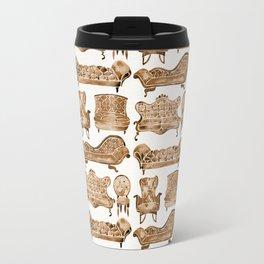 Victorian Lounge – Sepia Palette Travel Mug