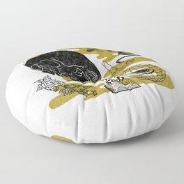 Planet Oblivion Floor Pillow
