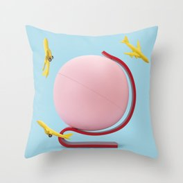 Toy world Throw Pillow