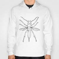 insect Hoodies featuring Insect by Martin Stolpe Margenberg