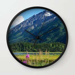 July at Tern Lake - II Wall Clock