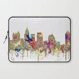 Atlanta, Georgia Skyline SG - Faded Glory Laptop Sleeve